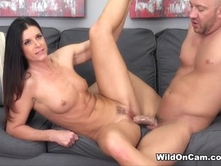Hottest pornstar India Summer in Incredible Natural Tits, Brunette porn video