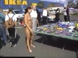 Naked At Flea Market