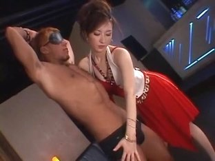 Exotic Japanese whore in Amazing Cunnilingus, MILFs JAV clip