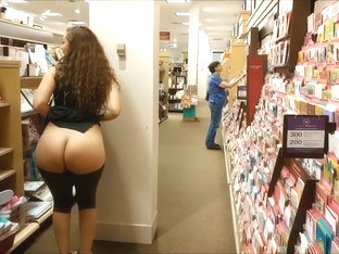 Flashing in Public with my Sister Emma Banks!