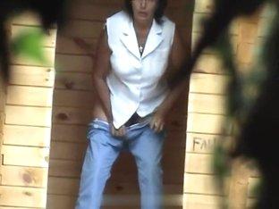 Girls Pissing voyeur video 50
