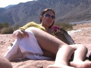 Aurita in slut gives a nice head in an outdoor sex scene
