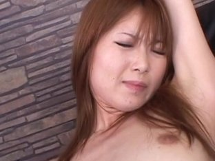 Eager Rika Sakurai gets a lot of stuff in and out