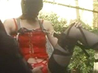 jpn masked woman likes large one