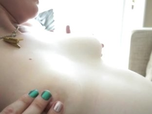 ATKGirlfriends video: Ela Darling masturbating on the bed