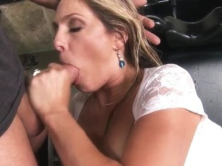James Deen is fooling around with very naughty Angela Attison