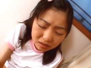 Cute Japanese teen Anna Kuramoto stuffed with cock from the rear