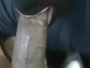 Dad's Floozy!! - Taking Large Dark Cock!!