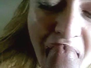 Homemade facial from a gigantic cock