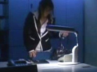 Karen Kisaragi - Schoolteacher in the Classroom Shocks.avi
