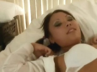 Asian schoolgirl Kandice gets a hot fuck