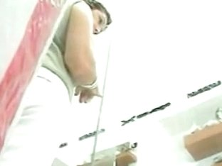 Hot asses are filmed on a voyeur's hidden cam
