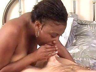 ILoveBlackGirls Video: Big boobie cock sucker
