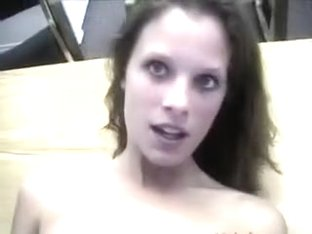 Sweet as candy girlfriend used for rough anal sex on cam