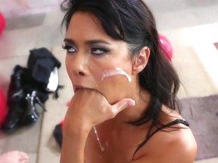 Fabulous pornstar Dana Vespoli in crazy cunnilingus, cumshots xxx scene