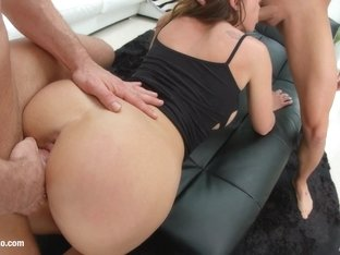 Julie Skyhigh being analized with ass gaping on Ass Traffic