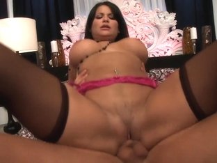 Amazing pornstar Sophia Lomeli in fabulous latina, lingerie adult video