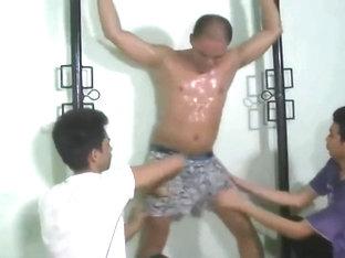 Ardent boy jacking off