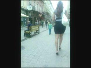 Candid ass voyeur walk in public hot