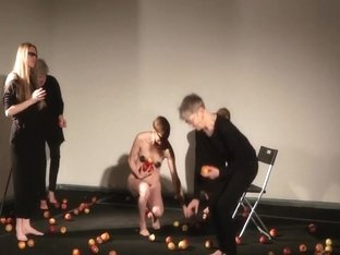 Naked on Stage-122-Malin Stahl-Performance Apple and Eve Na8ge-122-Eve