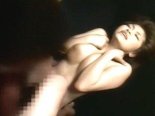 Horny Japanese chick in Crazy Big Tits, Fingering JAV scene