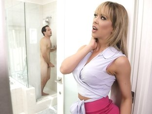 Cherie Deville & Tyler Nixon in Sneaking Around With Her BFFs Son - BrazzersNetwork