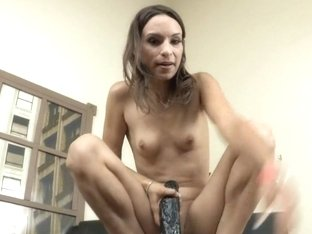 Amber Rayne's Brutal Anal Dildo