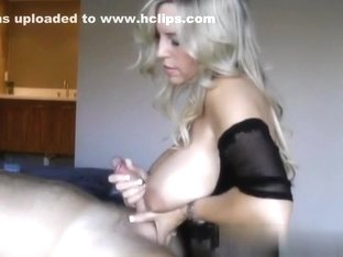 Breasty golden-haired mother I'd like to fuck fulfills all my sex fantasies