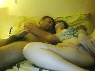 Horny cougar sucking my dick