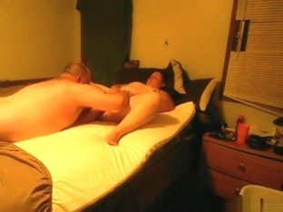 Fat mature couple has 69 and missionary sex