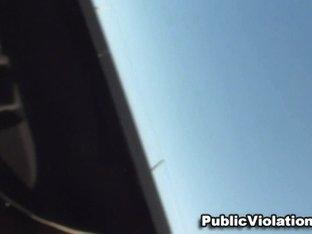 Public Truck Stop Knob Violation