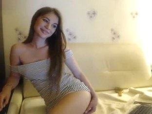 Zashka undressed in front of webcam