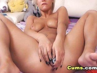 My Horny Neighbor Dildo Fucking Pussy On Cam