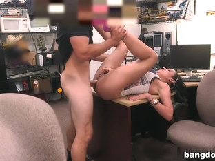 Big titty Latina is a slut for some cash
