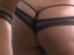 Slutty whore demonstrates her ass and fucks like an animal