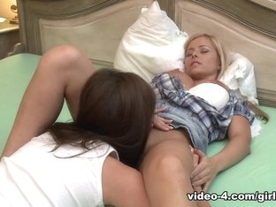 Hottest pornstars Sandra Shine, Eve Angel in Incredible Cunnilingus, Lesbian xxx scene