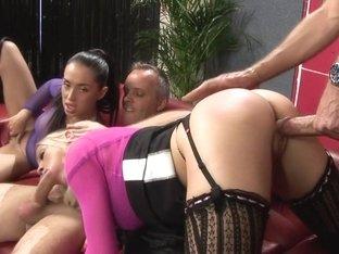 Crazy pornstars Cindy Behr and Anaya Leon in fabulous brazilian, blonde xxx scene