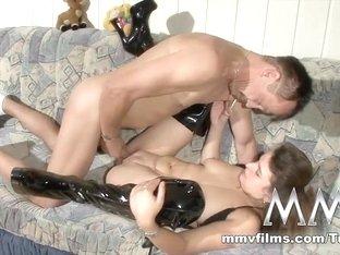 Incredible pornstar in Crazy Blowjob, German sex scene