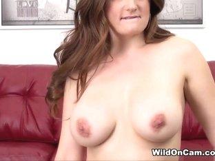 Exotic pornstar Allison Moore in Crazy Redhead, Masturbation porn scene