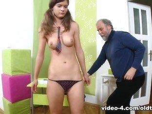 Fabulous pornstars in Crazy Redhead, Oldie xxx video