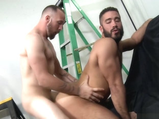 MenOver30 Trey Turner Eats Ass Good Before Fucking It