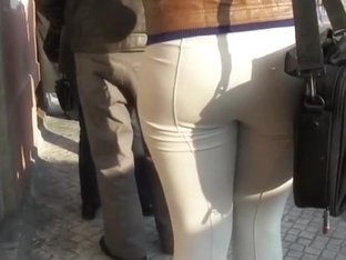 Stalking a hot looking tight butt