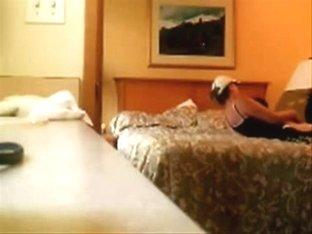 My kinky mom fingering on bed . Hidden cam