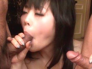 Best Japanese slut Hikaru Kirameki in Crazy JAV uncensored Blowjob video