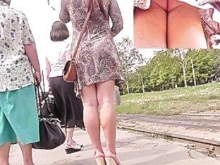 Peek up her paisley mini suit