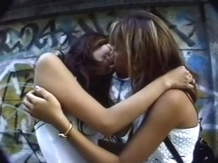 Sweet Jap dykes enjoying hot Sapphic love