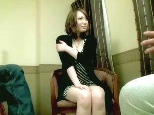 Lovely petite babe enjoys Japanese hardcore sex session