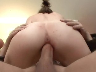 Exotic pornstar Anna Skye in crazy facial, college adult movie