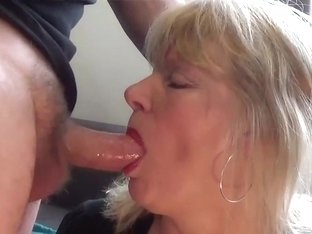 Piss and blowjob
