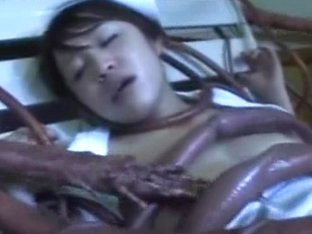 Nurse Gangbanged by Tentacles!